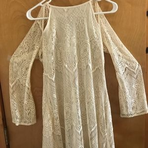 NEW Lucca Couture Sleeve Lace Dress.